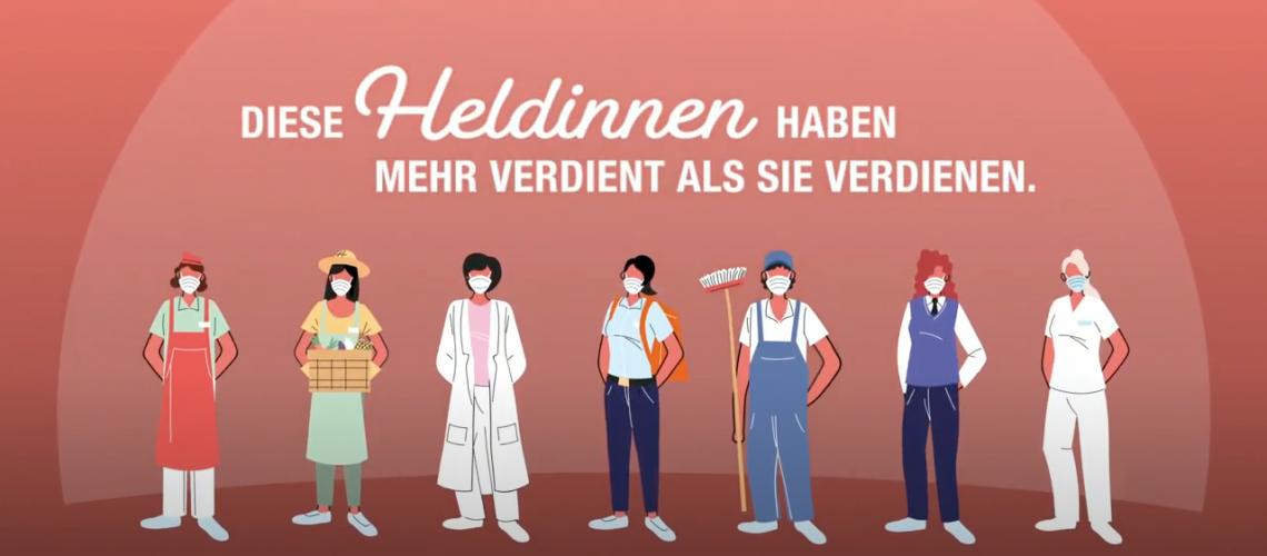 Städtebund - Frauen zum Equal Pay Day am 22.10.2020
